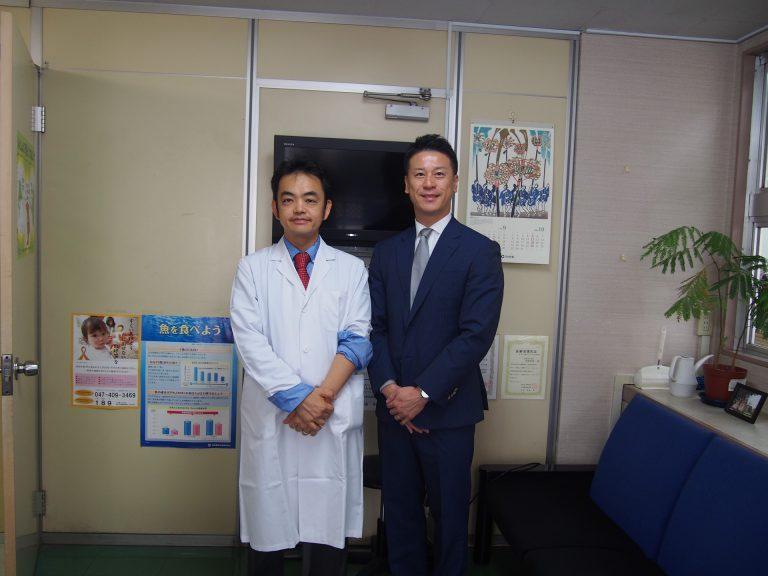 高橋宏和先生との記念写真