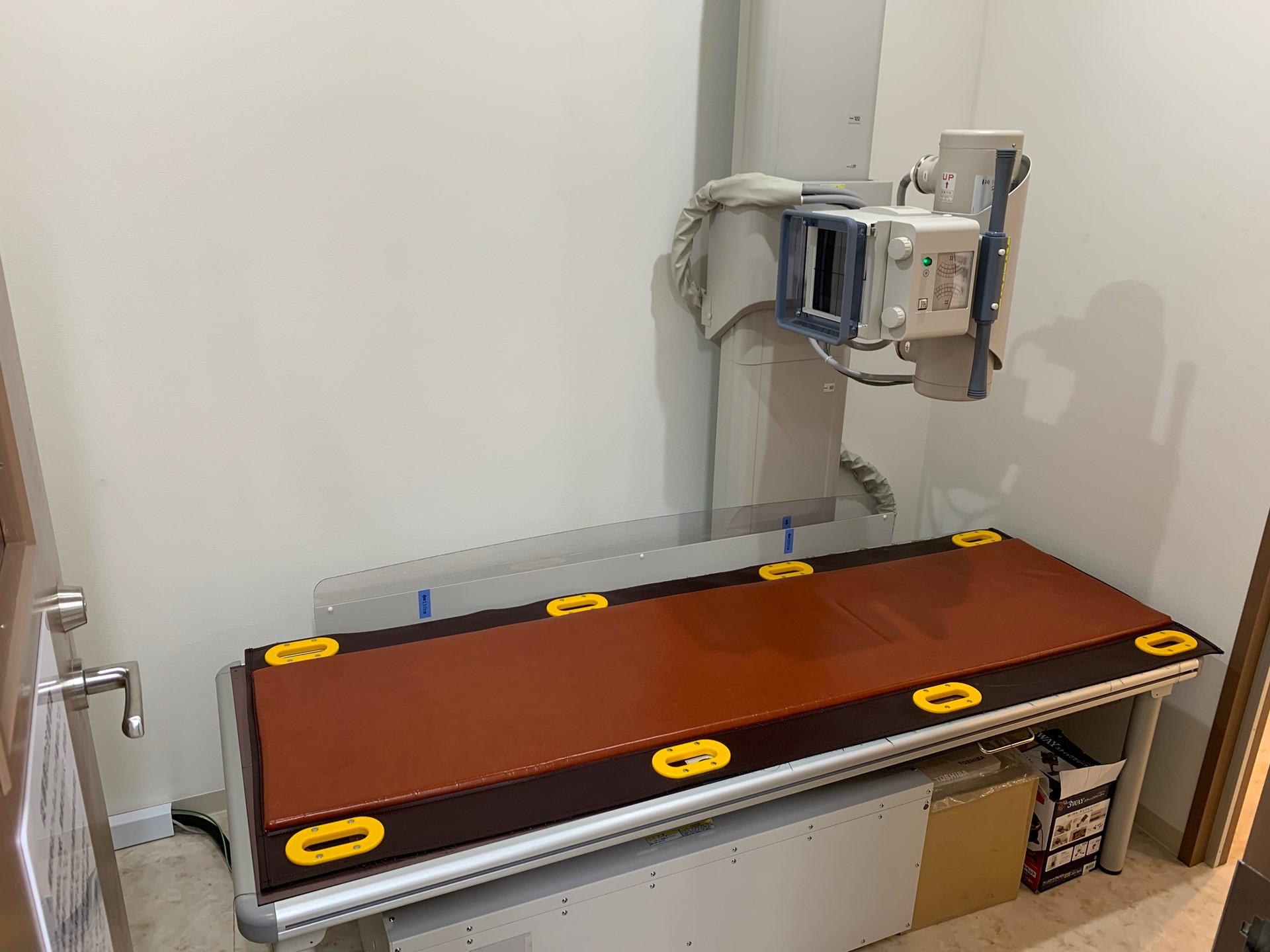 千葉県市川市ひろ消化器内科クリニックレントゲン室