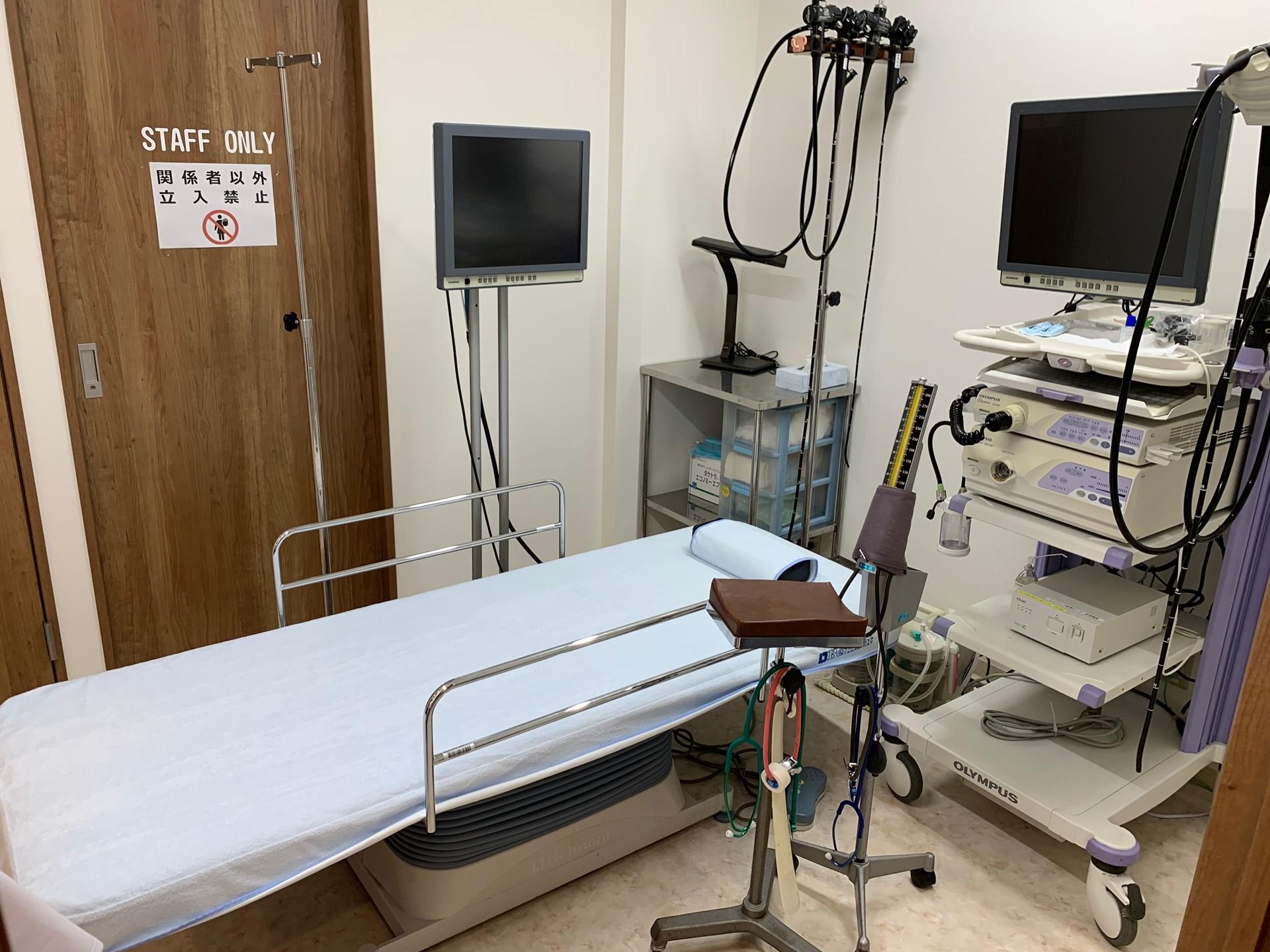 千葉県市川市ひろ消化器内科クリニック内視鏡室